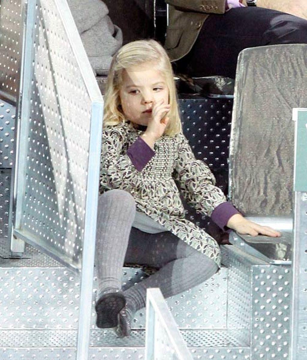 La Infanta Sofía, estrella 'real' en el tenis