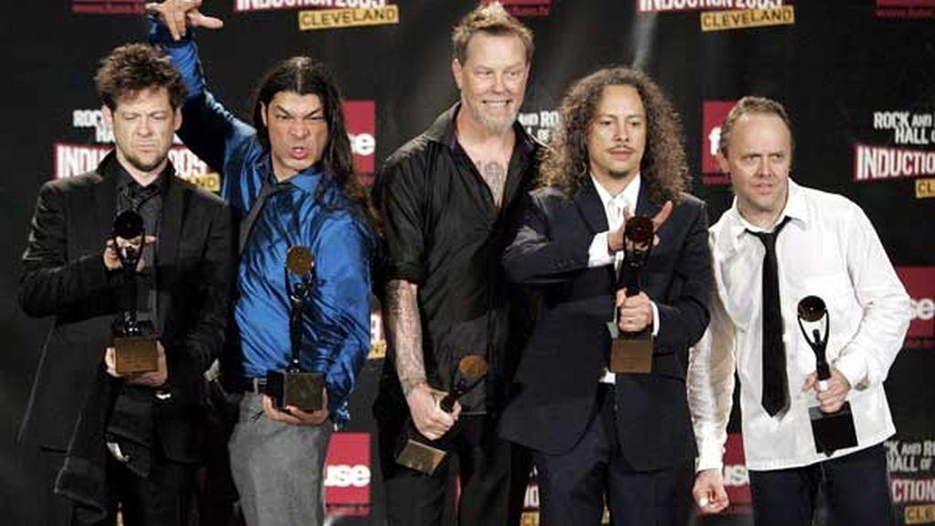 Metallica, en el Salón de la Fama de Rock and Roll
