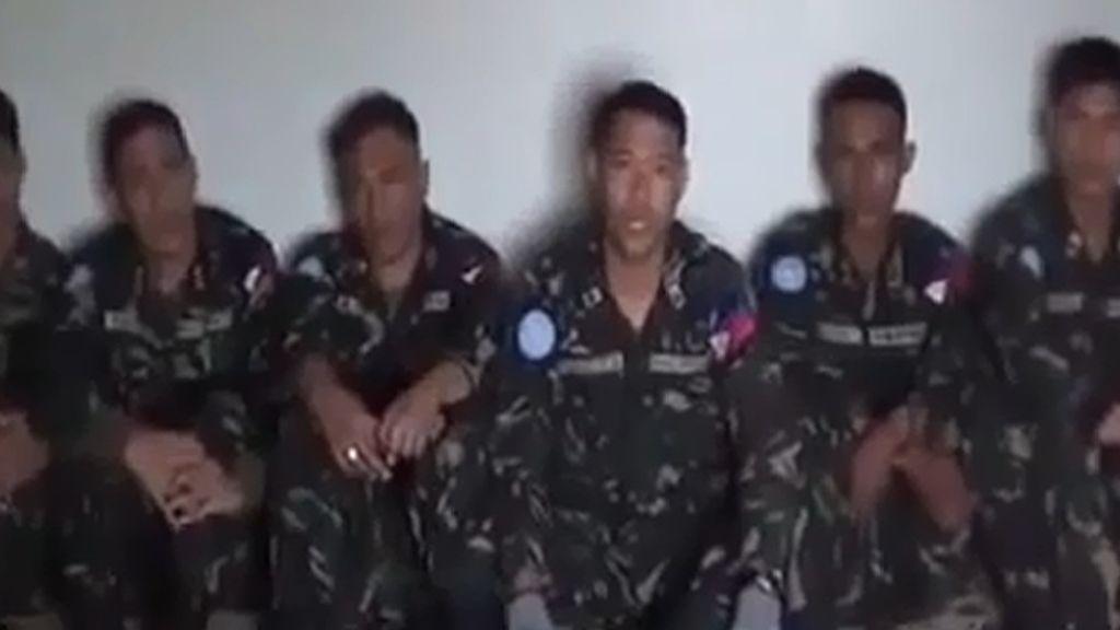 Varios de los cascos azules filipinos secuestrados por los rebeldes sirios