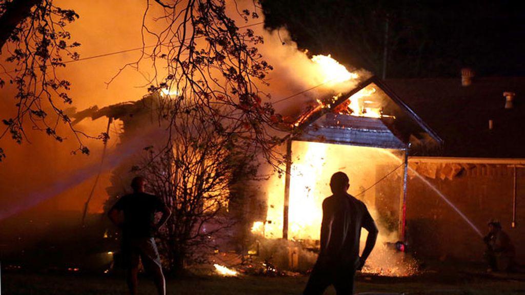 Las imágenes de la explosión de la fábrica en Texas