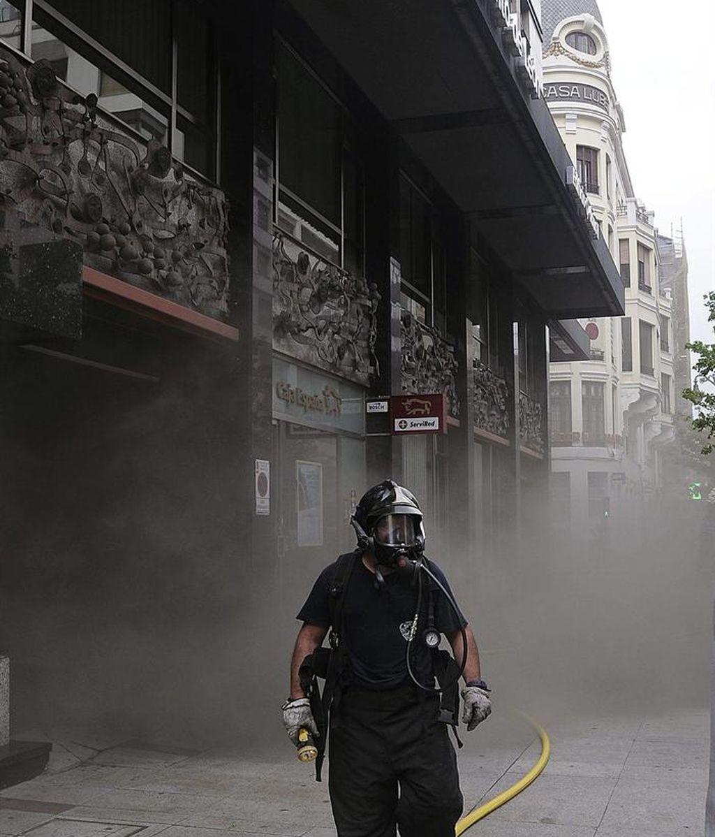 El incendio habría comenzado a las 15.45, y continúa sin control. No hay heridos.