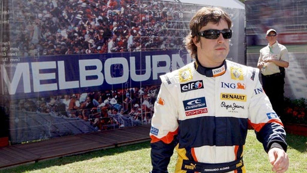Dificultades para Alonso en Australia