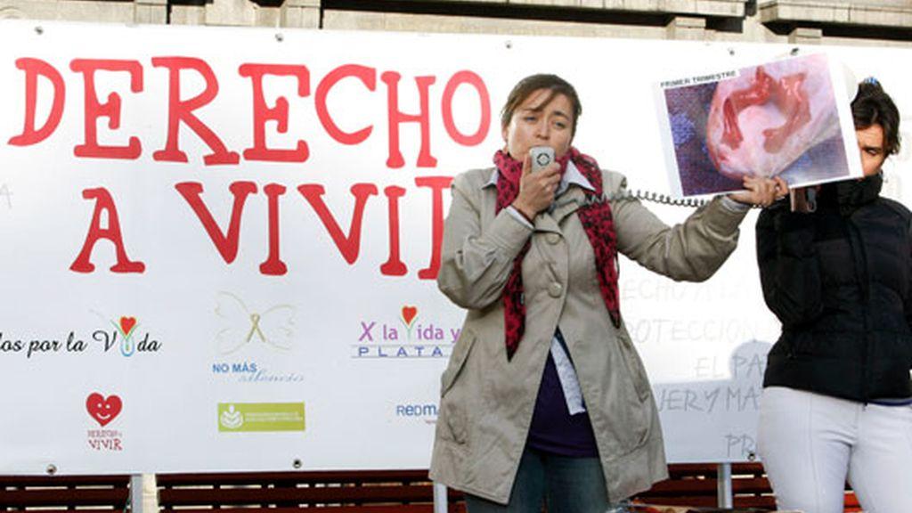 Manifestaciones en España en contra del aborto