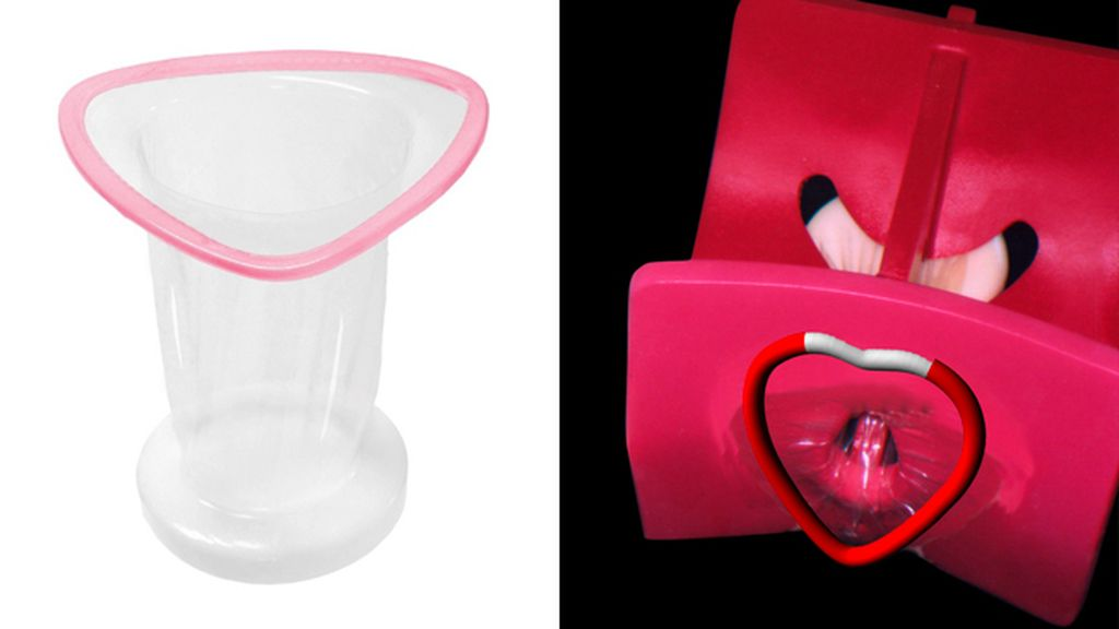 Nuevo condón femnenino con vibrador