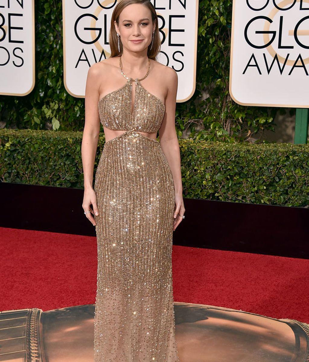 Brie Larson, de Calvin Klein, consiguió el premio a la mejor actriz dramática