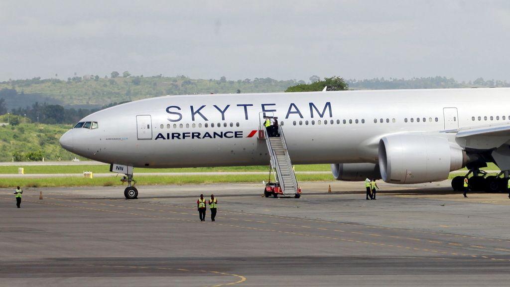 Kenia confirma la existencia de una bomba en el avión evacuado de Air France