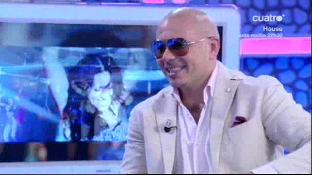 Pitbull nos habla sobre su nuevo disco