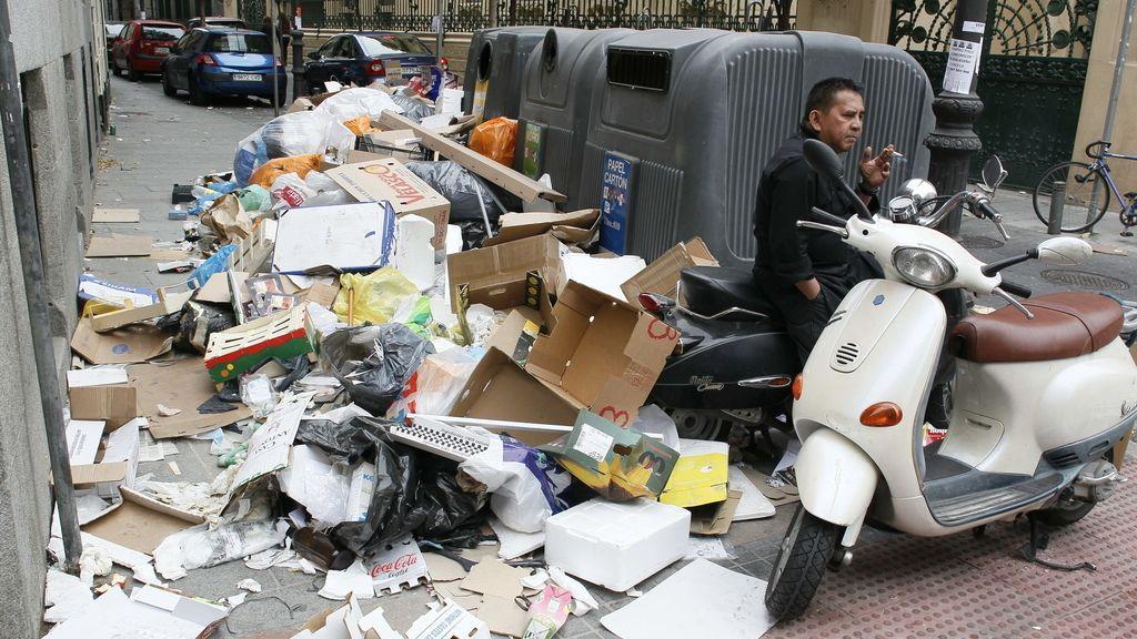 Basuras Madrid. Foto: EFE