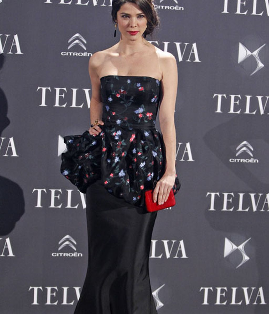 Juana Acosta, vestida de Oscar de la Renta