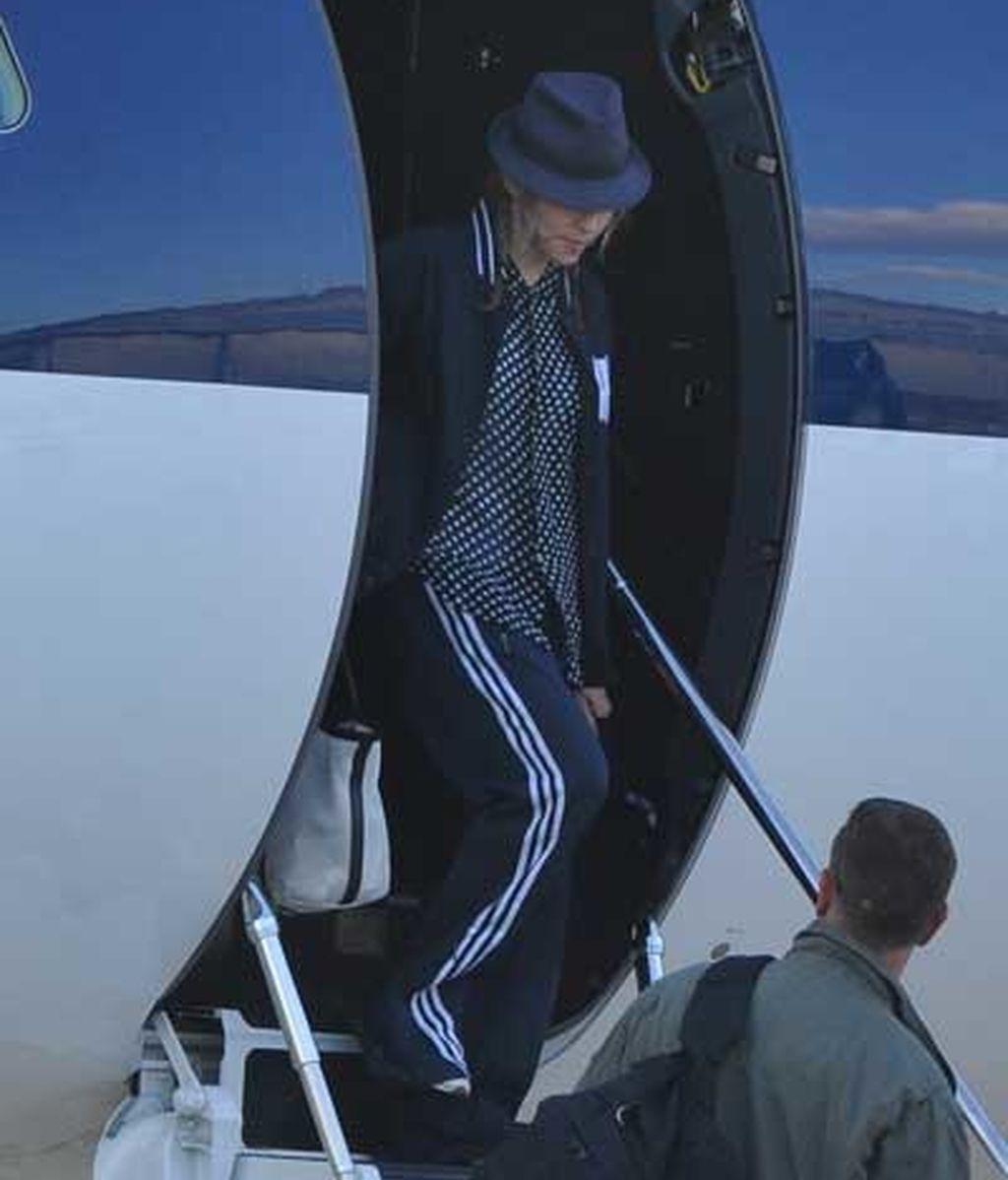 Madonna, en chándal por París