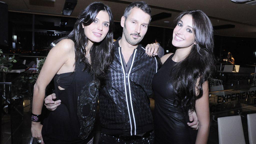 María Reyes, Antonio Pernas Freire y Noelia López