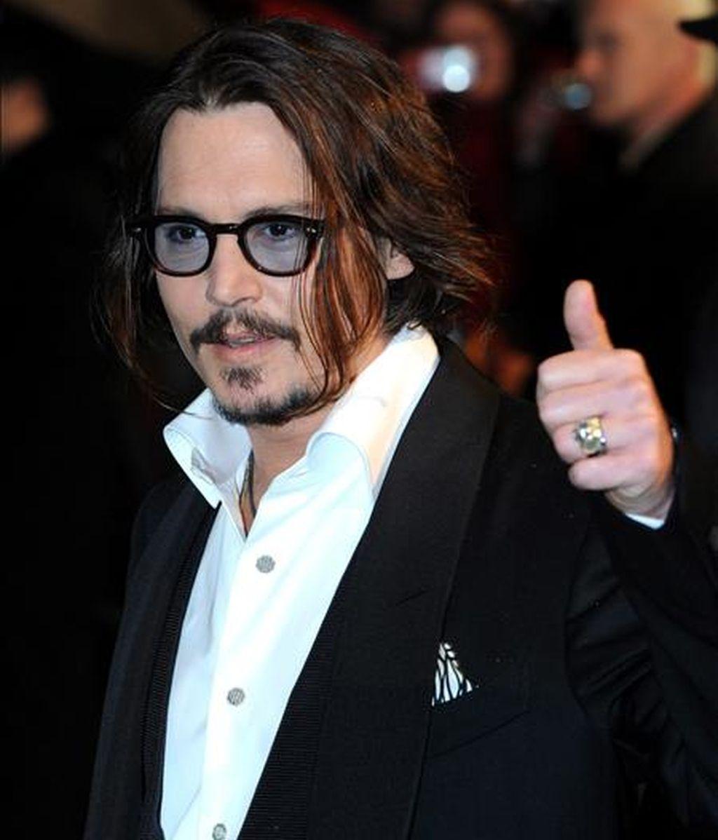 El actor estadounidense Johnny Depp. EFE/Archivo