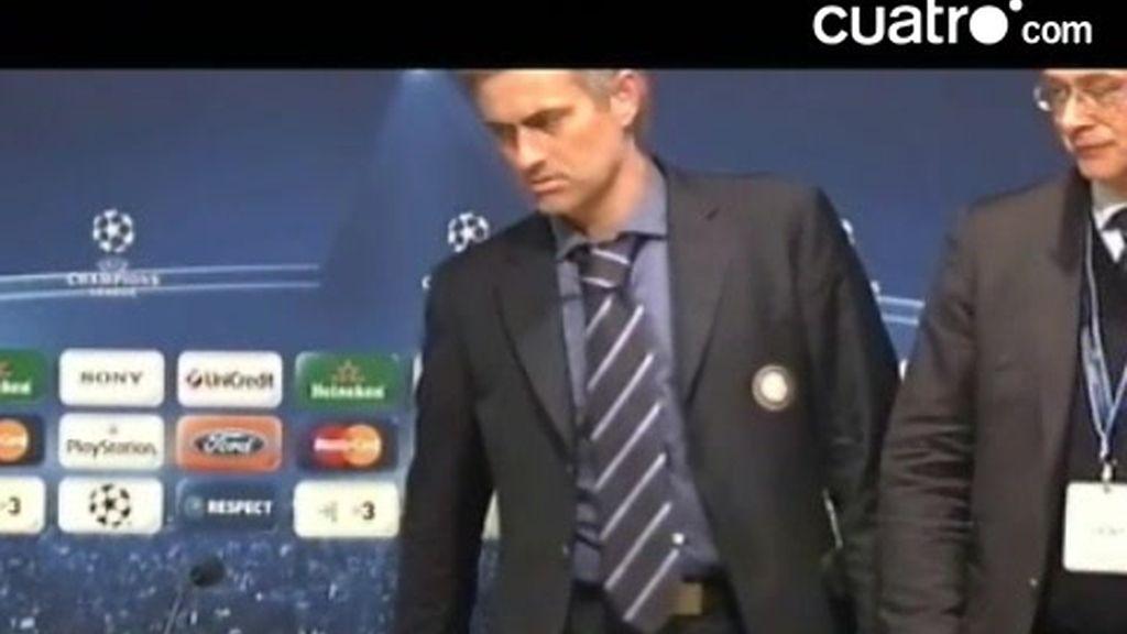 El show de Mourinho en el Camp Nou