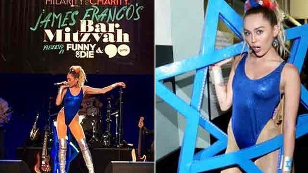 Miley Cyrus vuelve a sorprender con otro extravagante 'look'