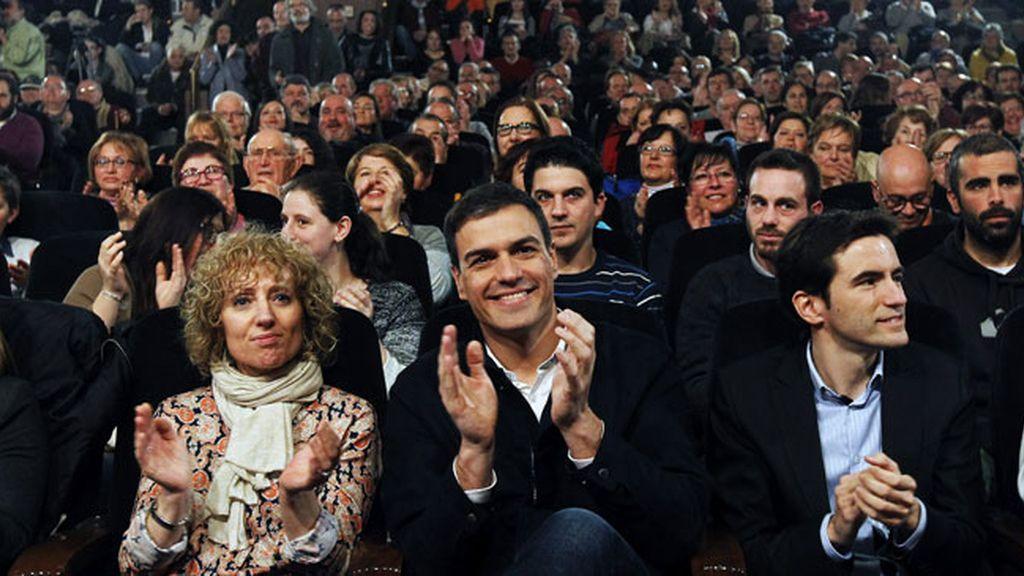 """Pedro Sánchez promete una España """"sin desahucios, sin puertas giratorias y laica"""""""