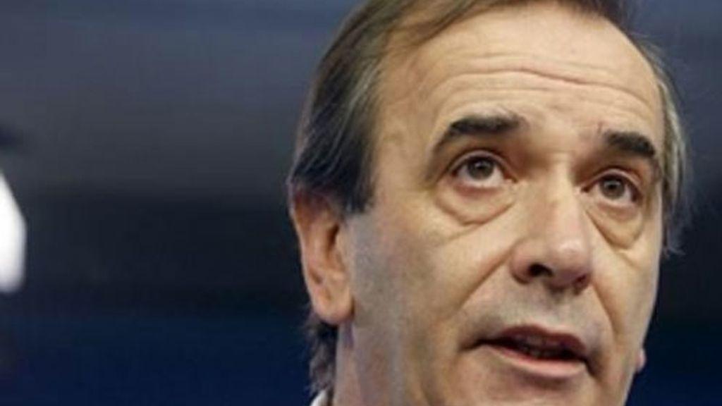 José Antonio Alonso sufrió un ictus cerebral.