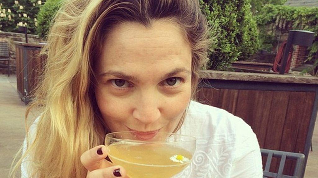 Drew Barrymore, sin maquillaje