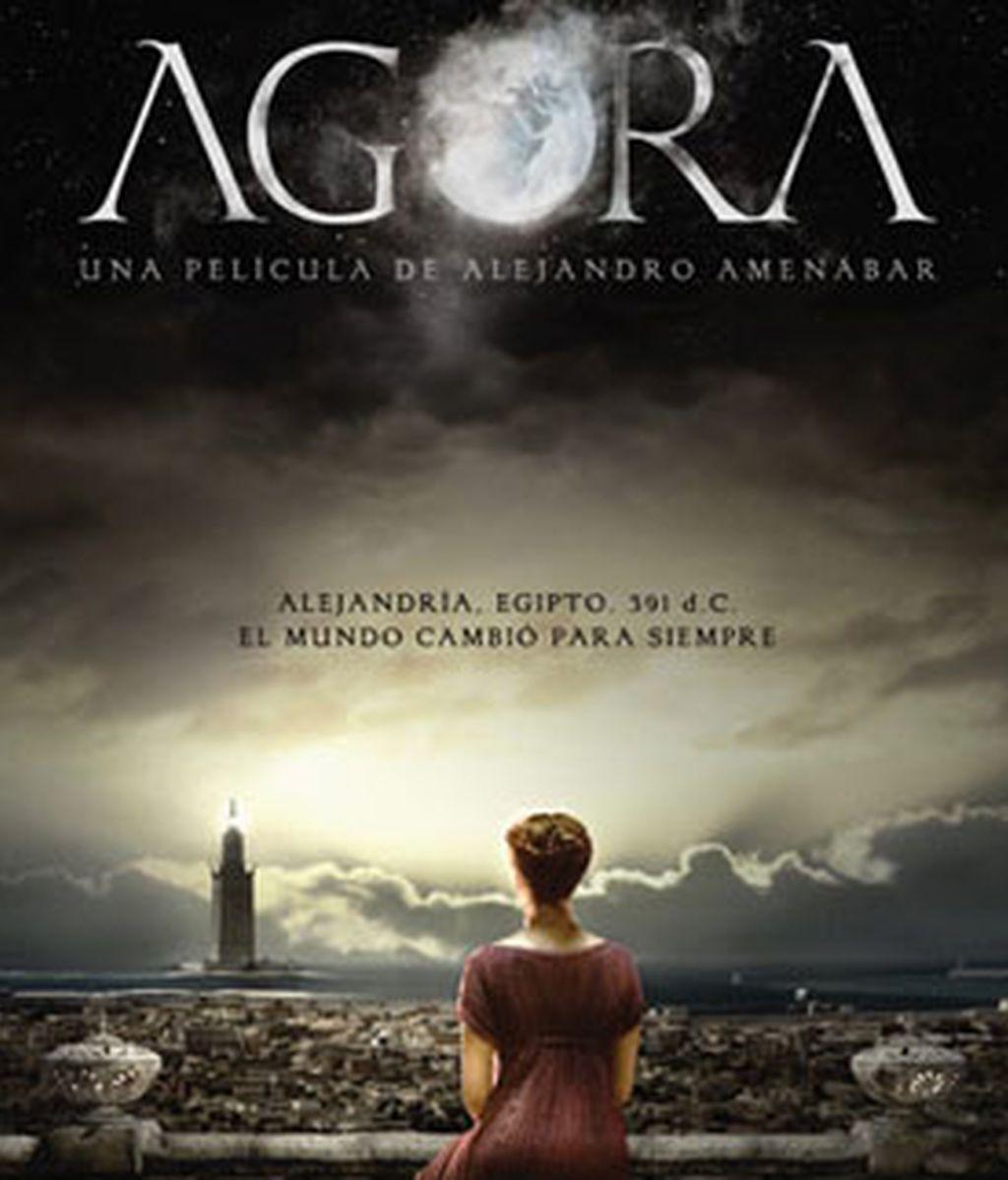 El cartel de promoción de la película