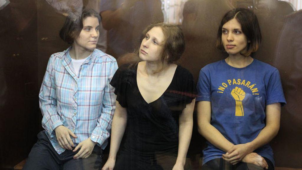 Las Pussy Riot declaradas culpables
