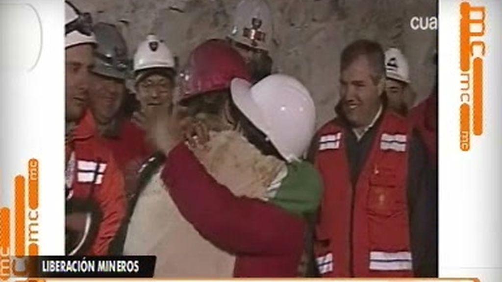 Rescate exitoso de los mineros chilenos