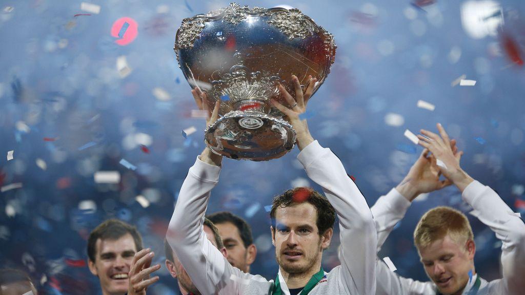 Después de 79 años de sequía, Andy Murray le da a Gran Bretaña su décima Copa Davis (29/11/2015)