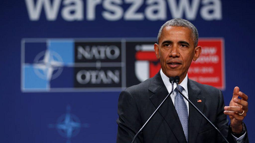 Barack Obama, cumbre de la OTAN