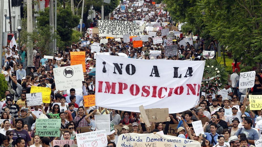 Manifestación en México (EFE)