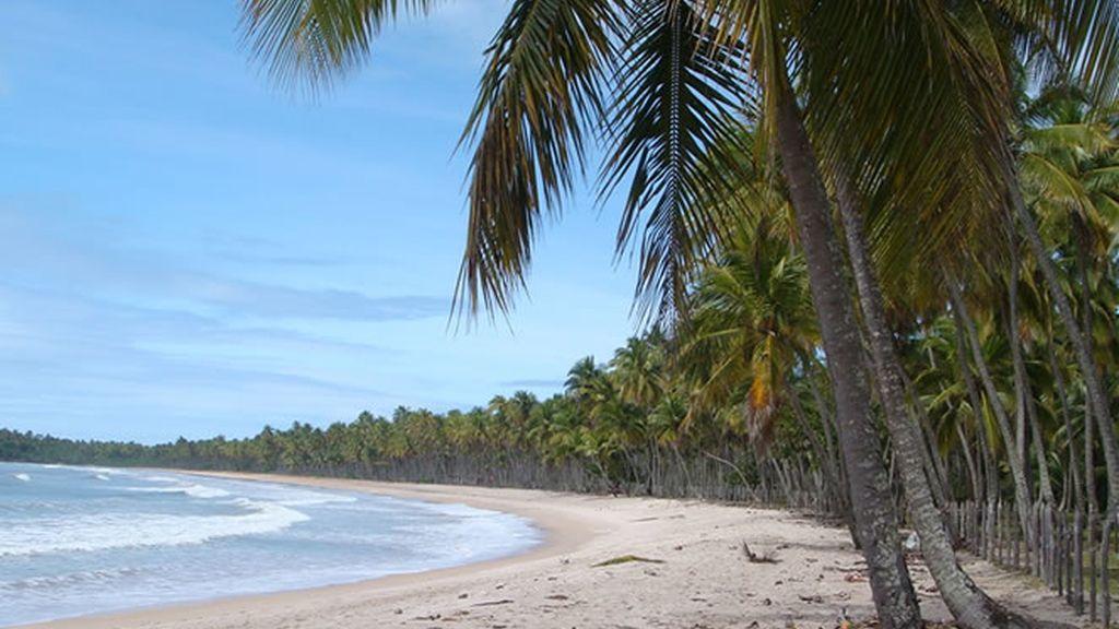 Las maravillosas playas de la isla de Boipeba