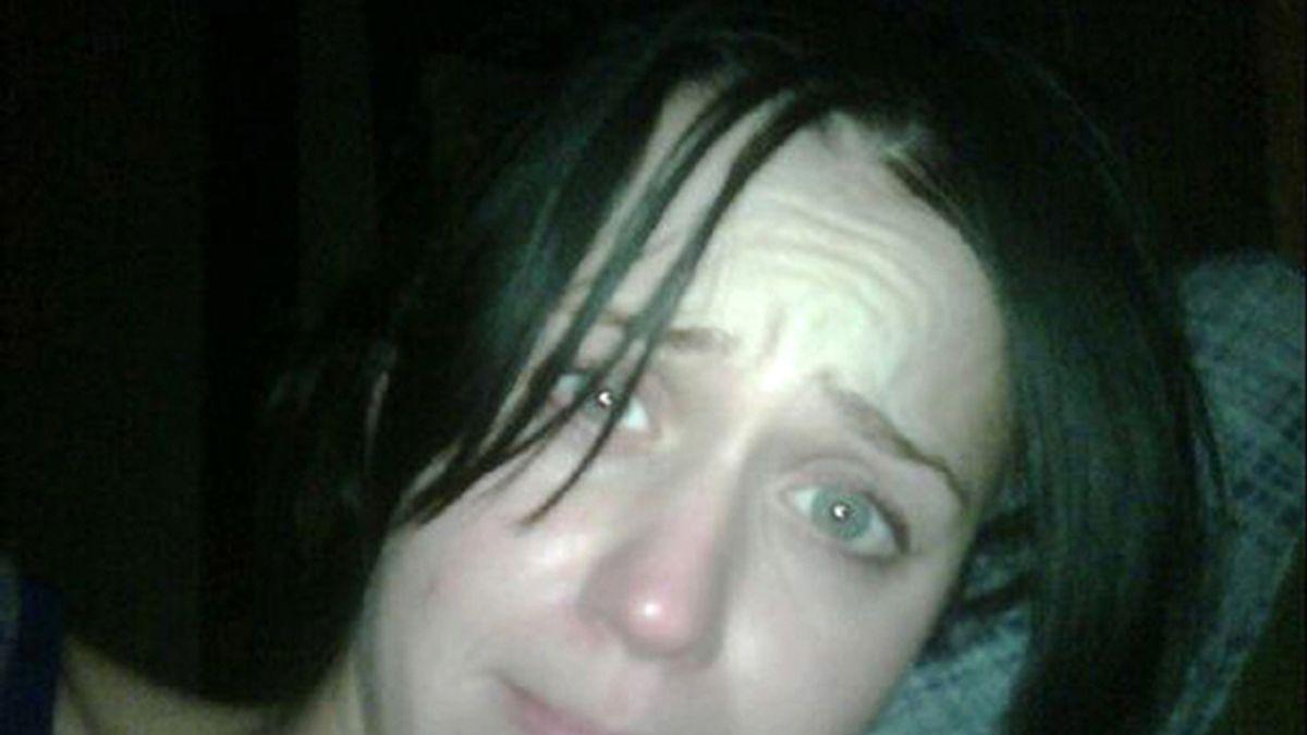 Katy Perry en la foto que colgó su marido en Twitter.