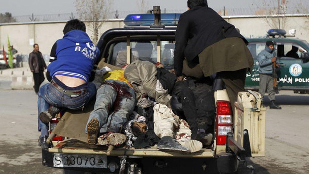 Al menos 20 muertos en un atentado en Kabul