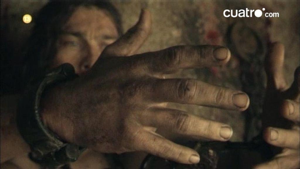 Promo Spartacus. No es sudor, es su alma lo que vierte en la arena