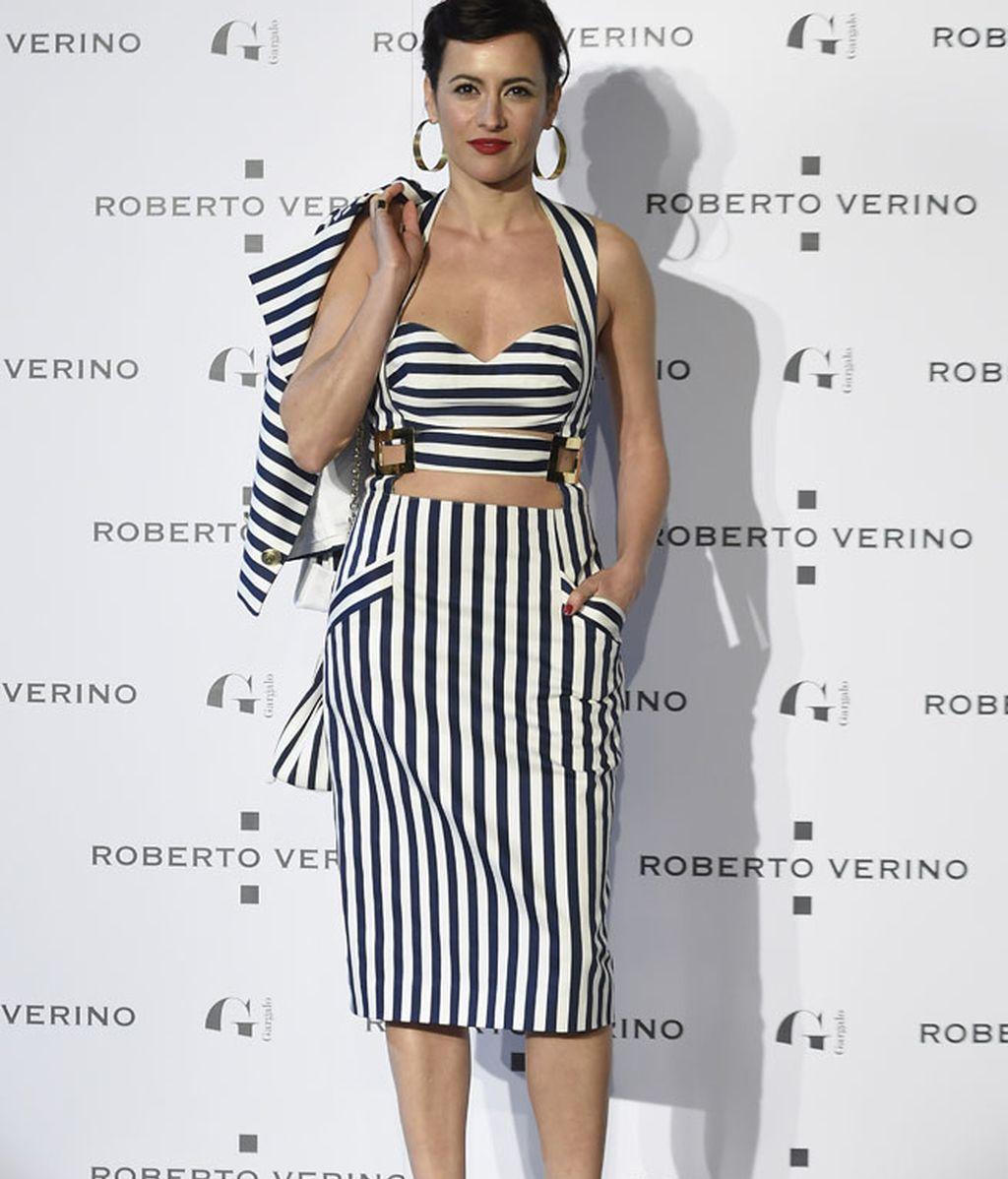La actriz Ana Turpin con el 'look' más arriesgado