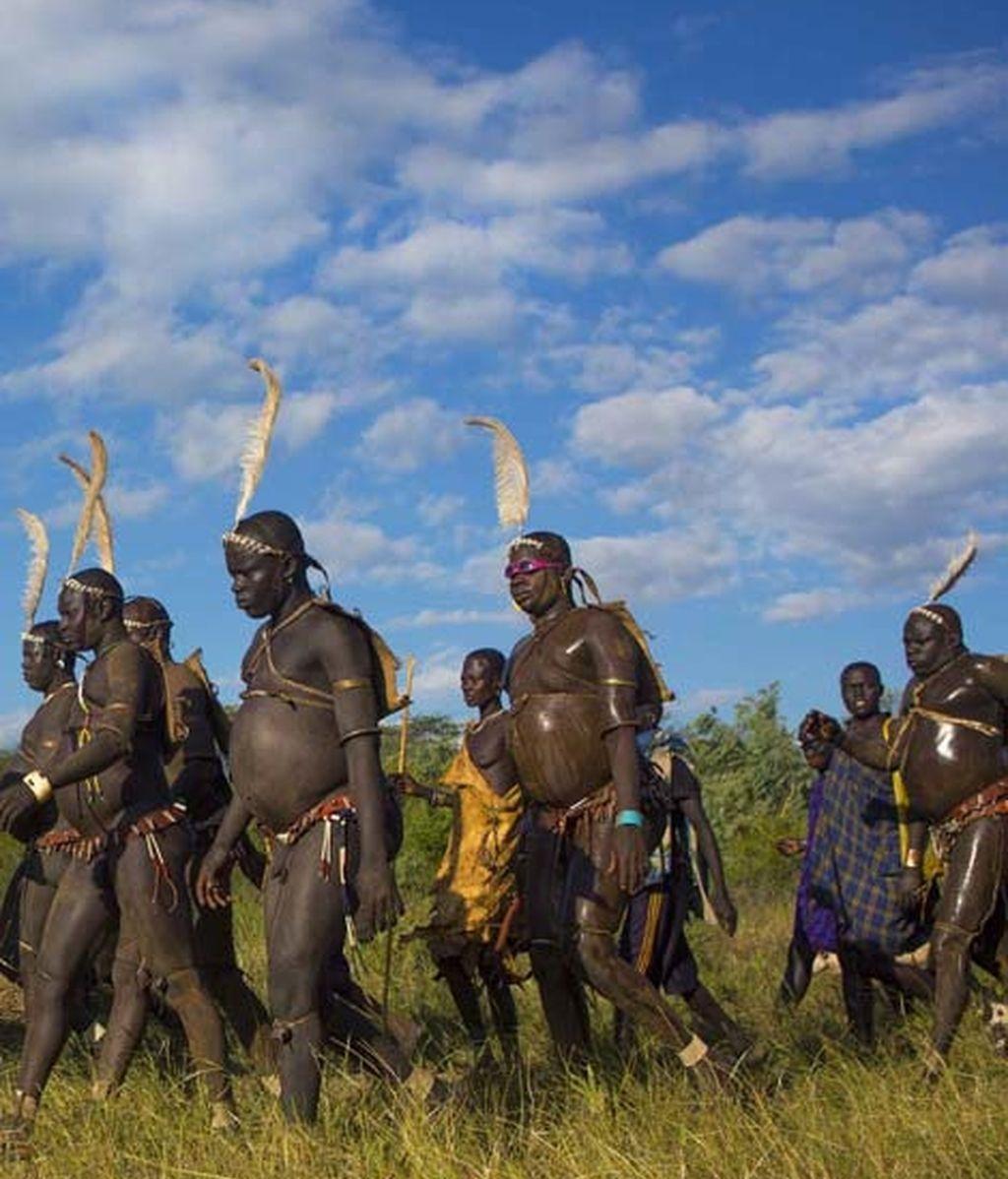 Competición por ser el hombre más gordo de la tribu