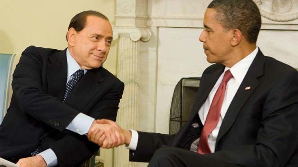 Berlusconi visita a Obama