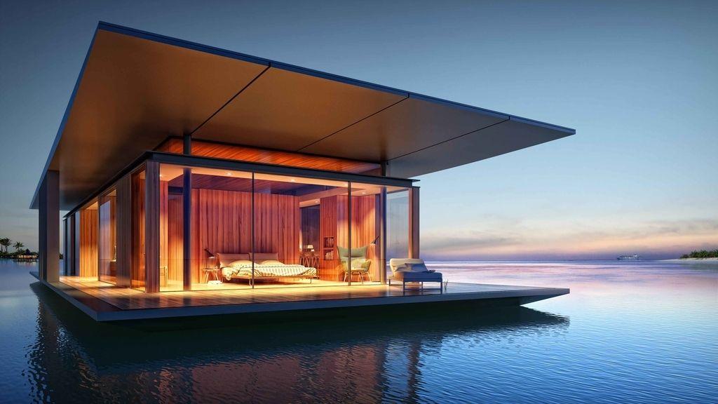 La increíble casa flotante