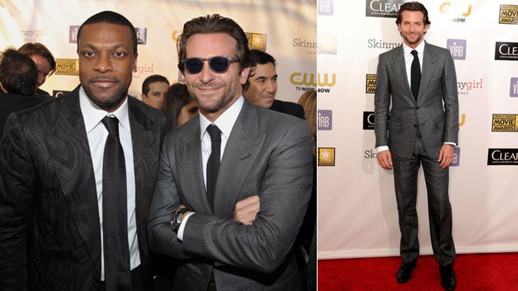 Un jocoso Bradley Cooper fue también galardonado en los Critics Choice