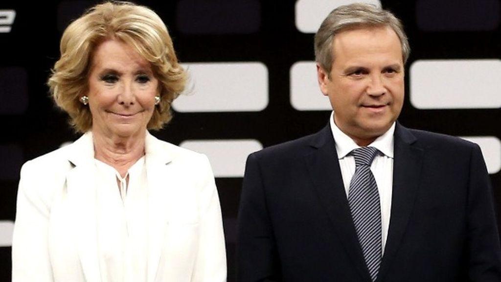 Esperanza Aguirre ofrece la alcaldía de Madrid a Antonio Miguel Carmona