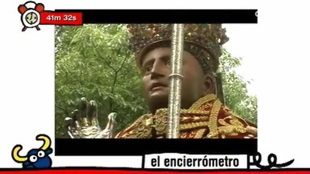 La procesión de San Fermín