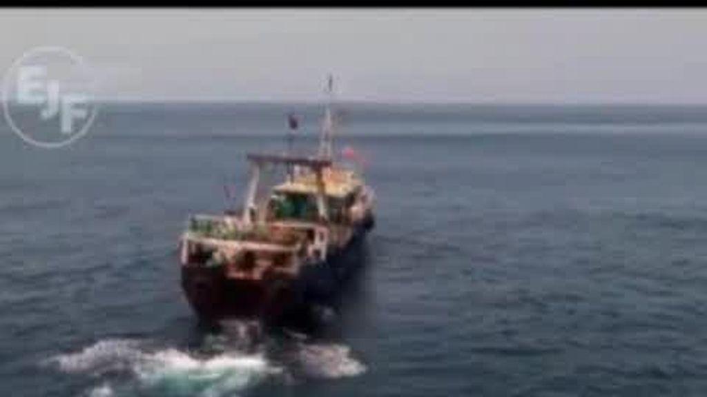 Pescadores esclavos