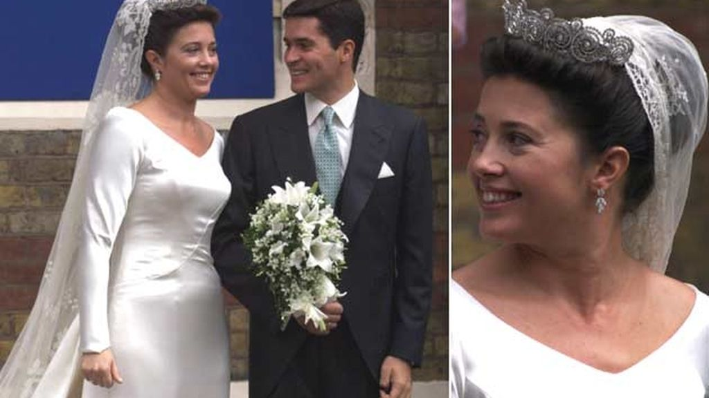 23-02-2009 La princesa Alexia de Grecia y Carlos Morales/ Londres