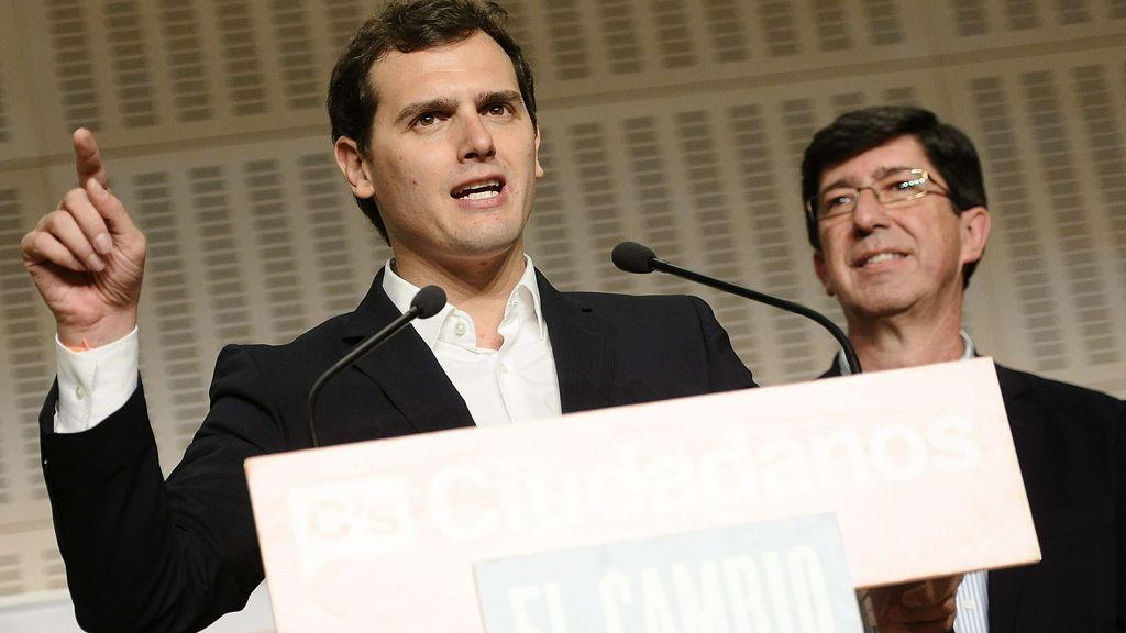 Albert Rivera, tras los resultados de las elecciones