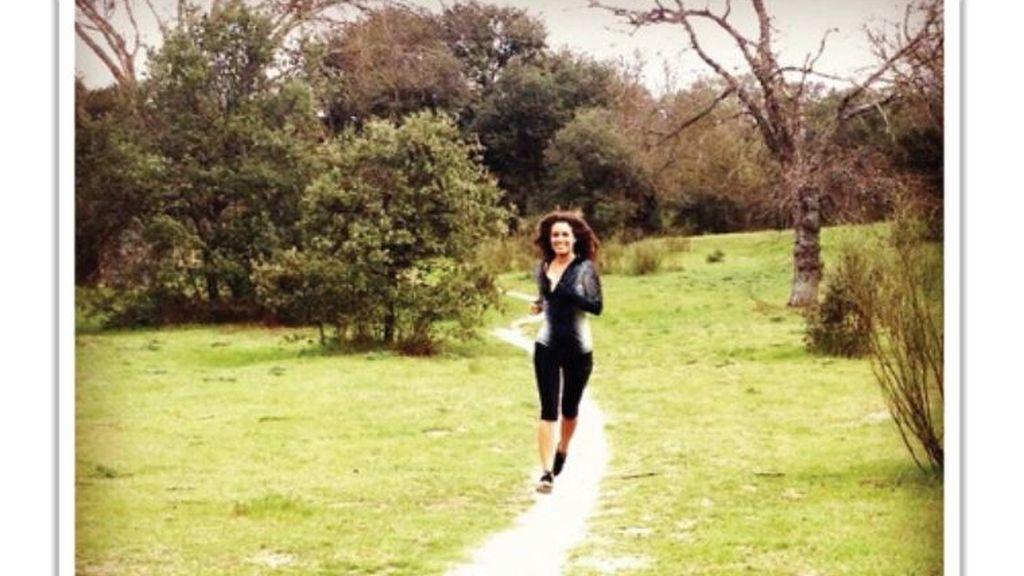 Laura Madrueño, 'running'