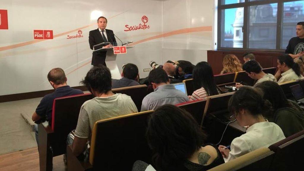 Antonio Miguel Carmona, en rueda de prensa
