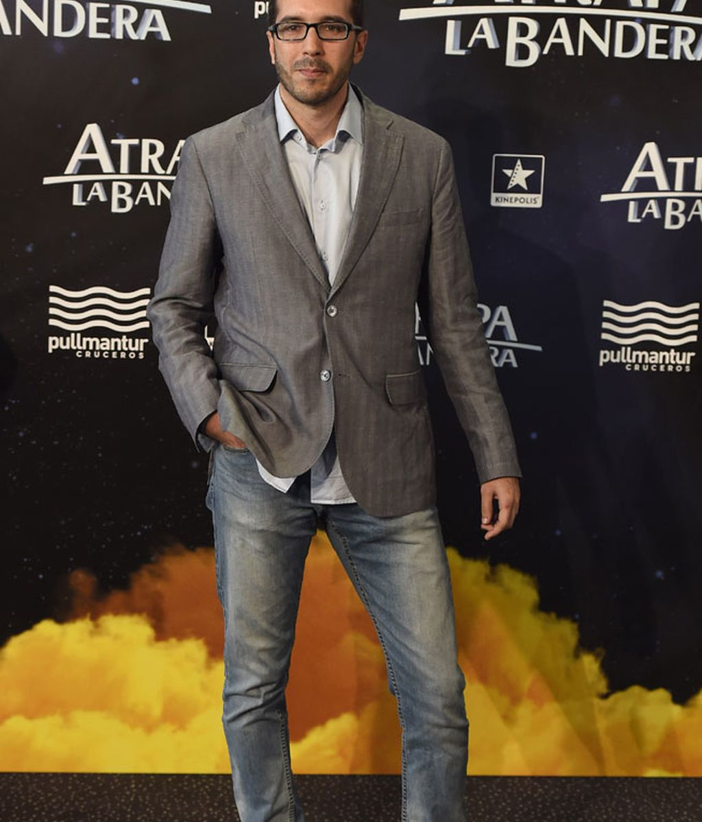 El director de la película, Enrique Gato Borregán