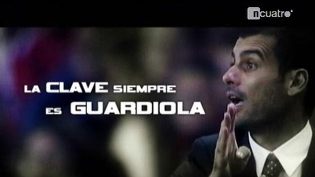 Pep Guardiola, el motivador del Barça