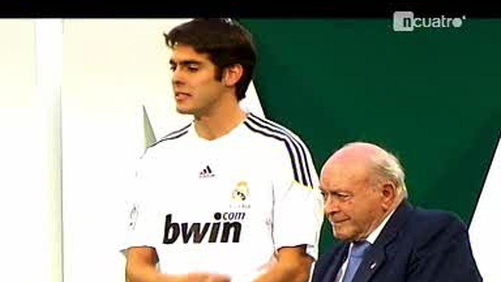 Las diferencias entre la presentación de Albiol y la de Kaká