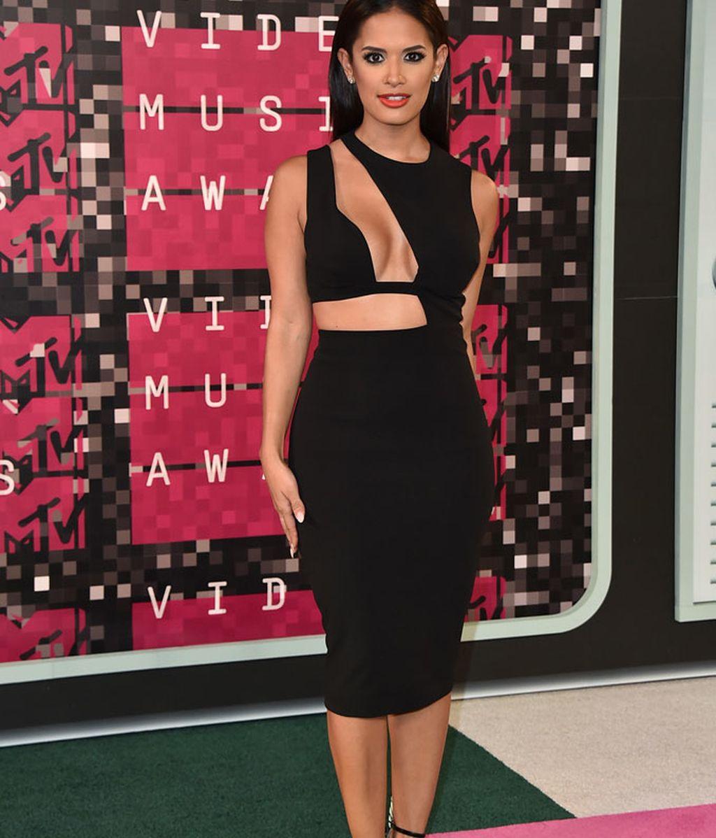 Rocsi Díaz en los premios MTV