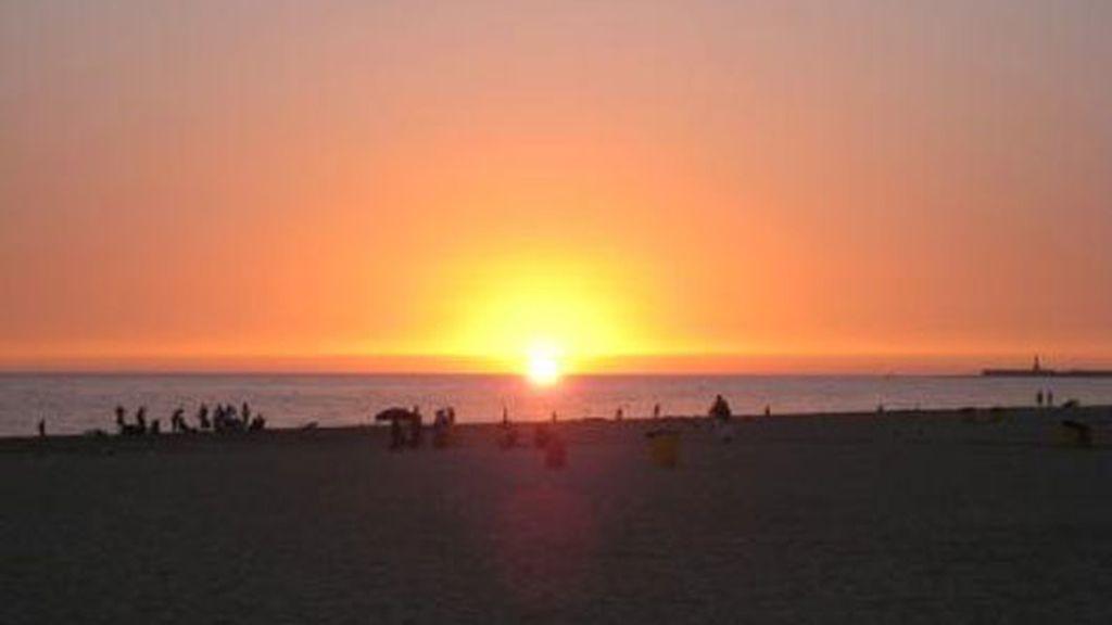 Playa Victoria, en Cádiz