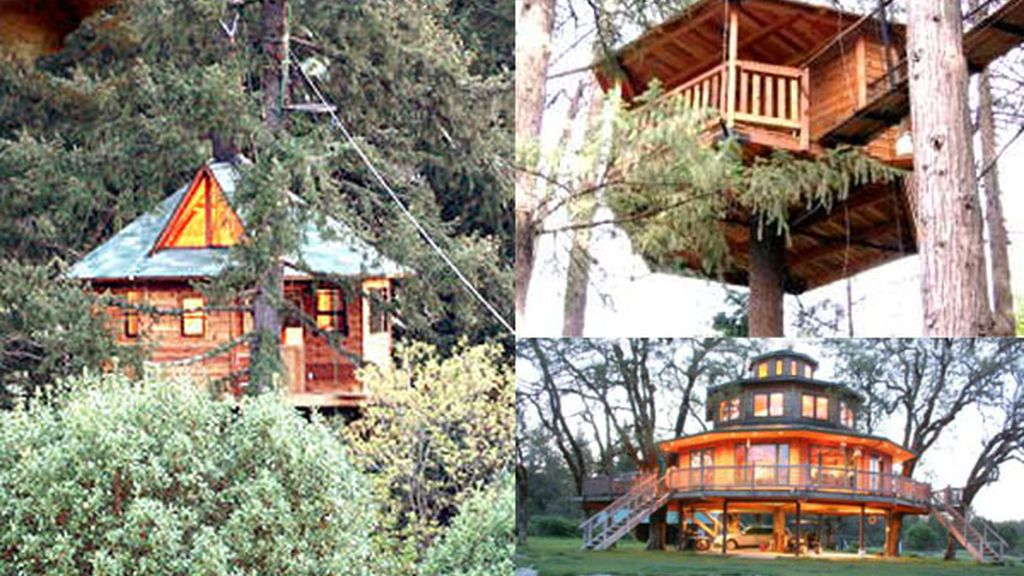 Out 'n' about treehouses, ecoturismo en Oregon, EEUU