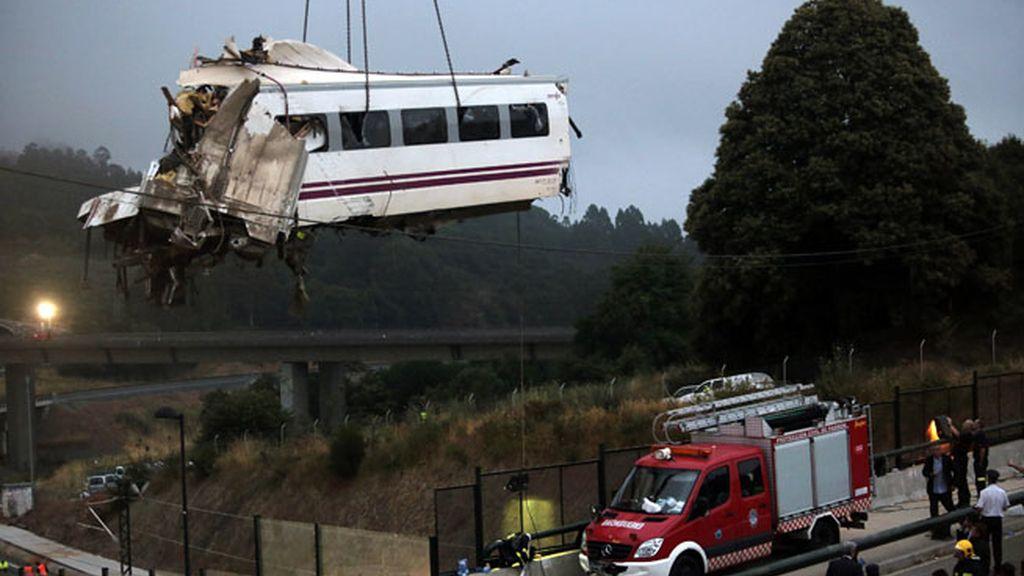 Las fotos de la tragedia del Alvia Madrid-Ferrol